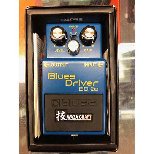 Boss BD2W Blues Driver Waza Craft Effect Pedal