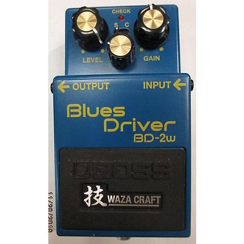 used boss bd2w blues driver waza craft effect pedal guitar center. Black Bedroom Furniture Sets. Home Design Ideas