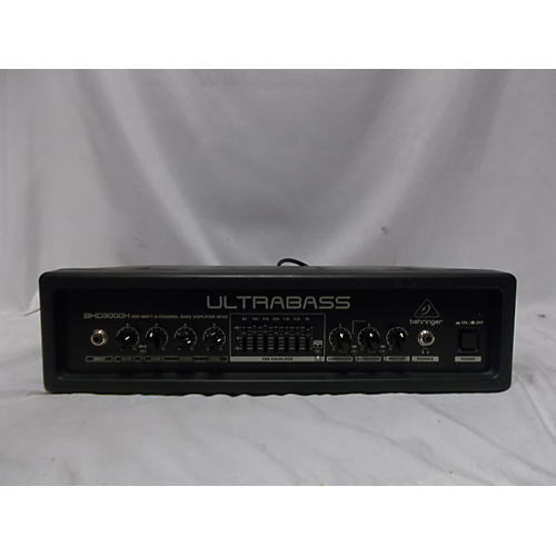 used behringer behringer ultrabass bxd3000h bass amp head guitar center. Black Bedroom Furniture Sets. Home Design Ideas