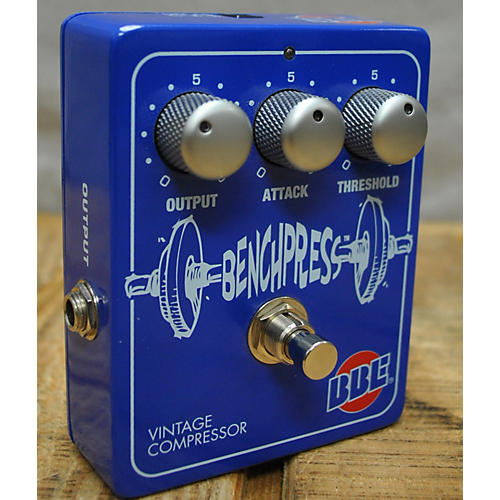 BBE BENCH PRESS VINTAGE COMPRESSOR Effect Pedal