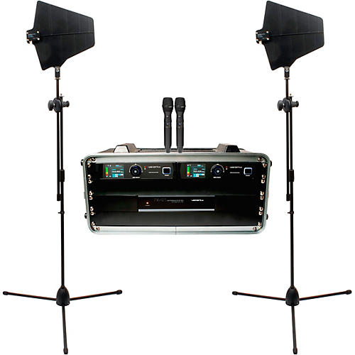 VocoPro BENCHMARK-DUAL-HH 2-Channel True Diversity Handheld Microphone System