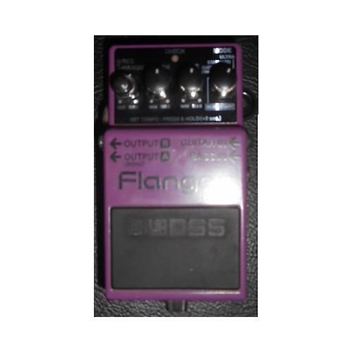 Boss BF3 Flanger Purple Effect Pedal