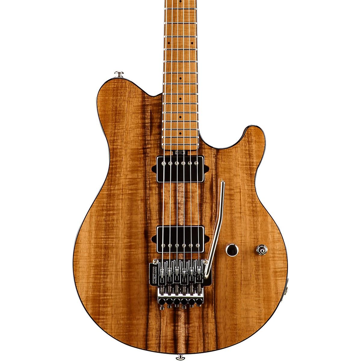 Ernie Ball Music Man BFR Axis Electric Guitar with Koa Top and Mahogany Back