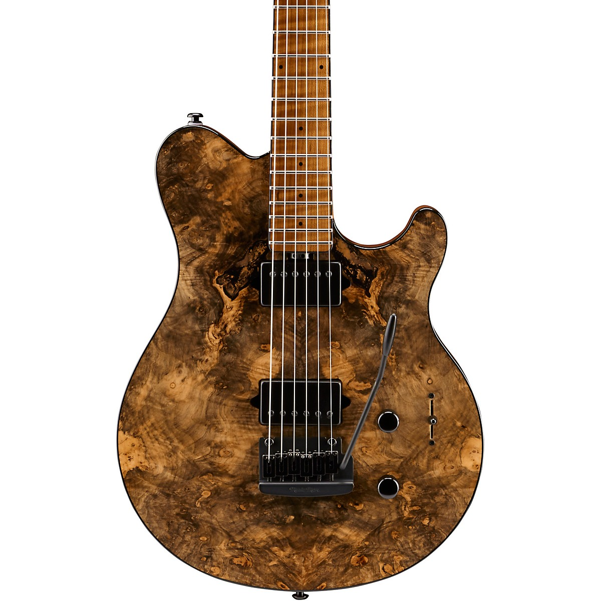 Ernie Ball Music Man BFR Axis Super Sport Burl Top Electric Guitar