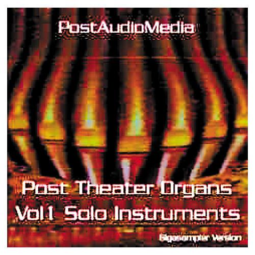 Tascam BG: Post Theater Organ Vol.1 Giga CD