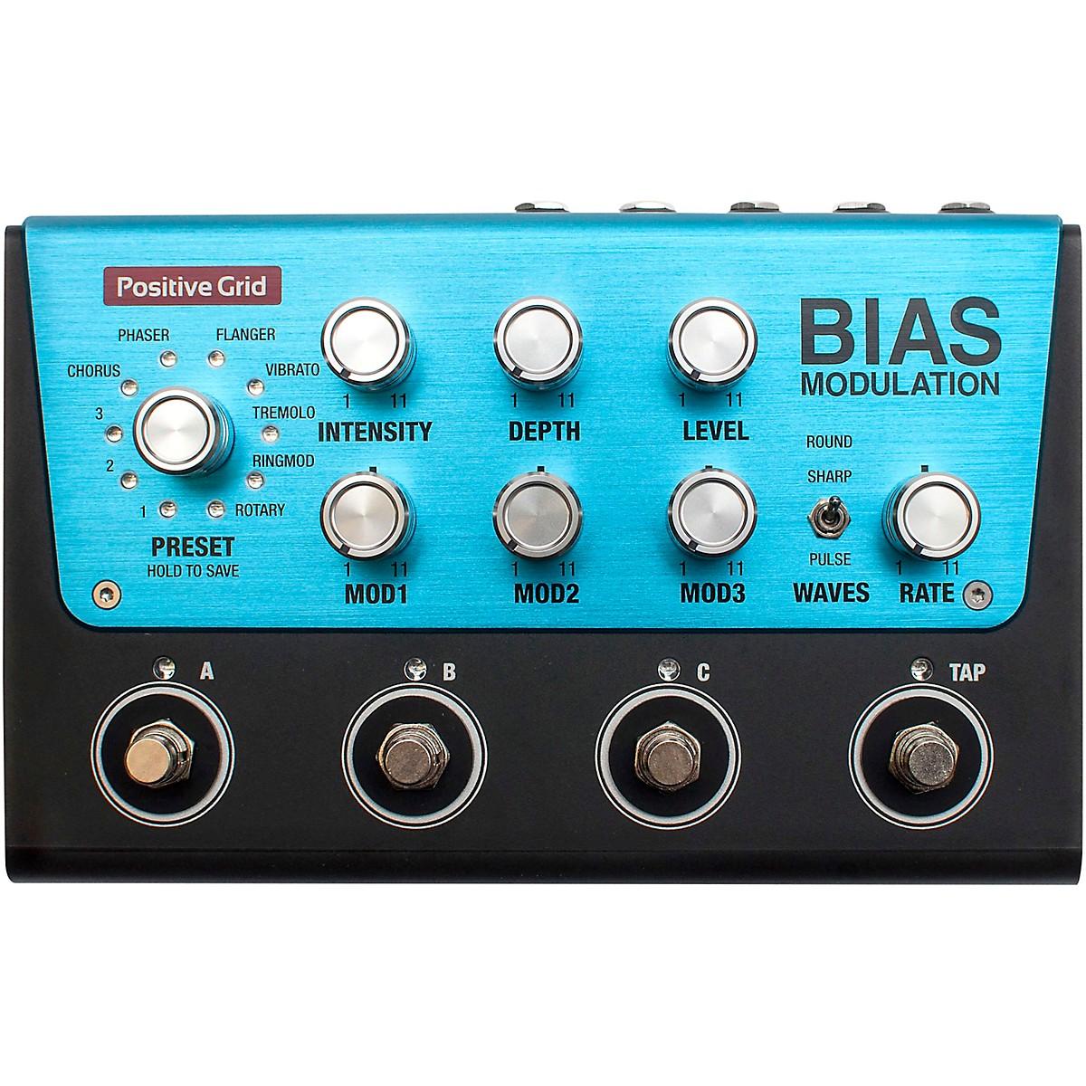 Positive Grid BIAS Modulation Pro Effects Pedal