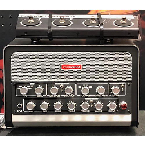 Positive Grid BIAS WITH BFS-4 FOOTSWITCH Solid State Guitar Amp Head