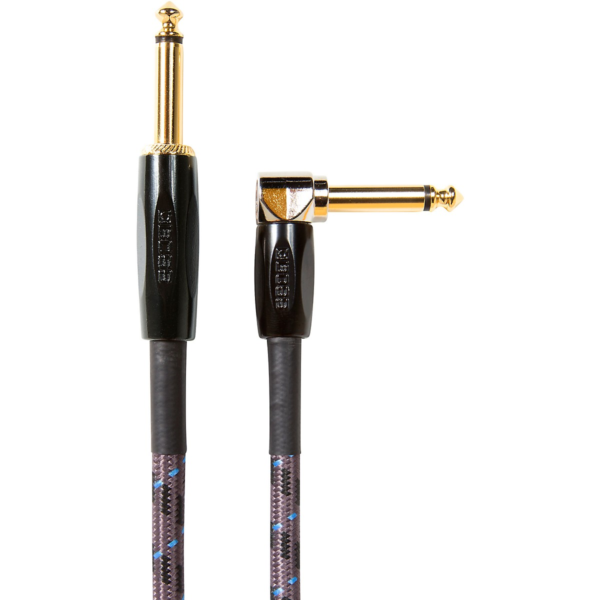 Boss BIC-25A 7.5 m Instrument Cable, Angled/Straight 1/4