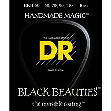 DR Strings BKB-50 Black Beauty Heavy Bass Strings