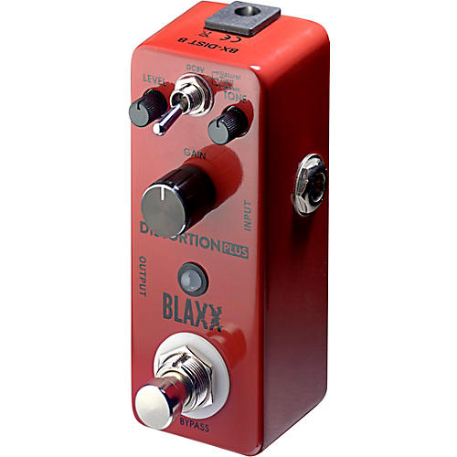 Stagg BLAXX 3-mode Distortion pedal for electric guitar