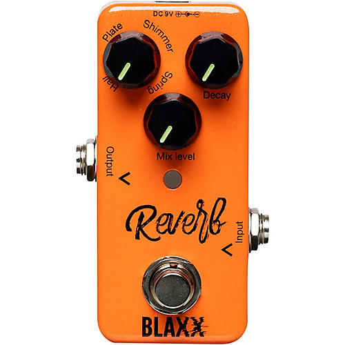 Stagg BLAXX Four Mode Reverb Pedal