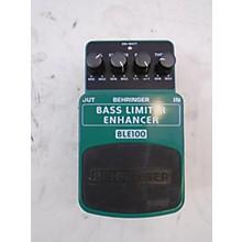Behringer BLE100 Bass Limiter Enhancer Effect Pedal