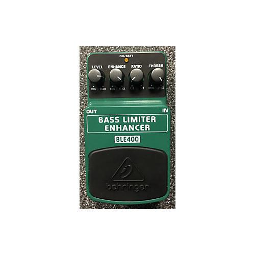 Behringer BLE400 Bass Limiter Enhancer Bass Effect Pedal