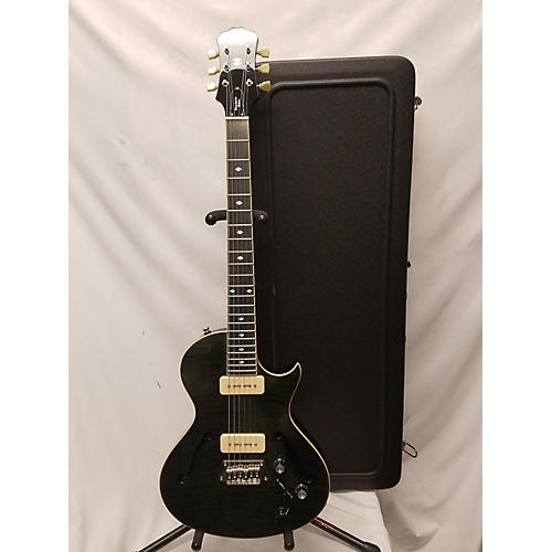 used epiphone blueshawk deluxe hollow body electric guitar trans black guitar center. Black Bedroom Furniture Sets. Home Design Ideas