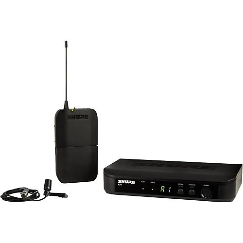 Shure BLX14 Lavalier System with CVL Lavalier Microphone