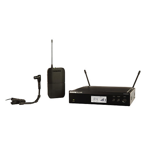 Shure BLX14R/B98 Wireless Horn System with Rackmountable Receiver and WB98H/C