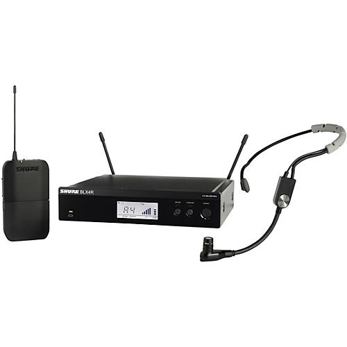 Shure BLX14R Headset System with SM35 Headset Microphone