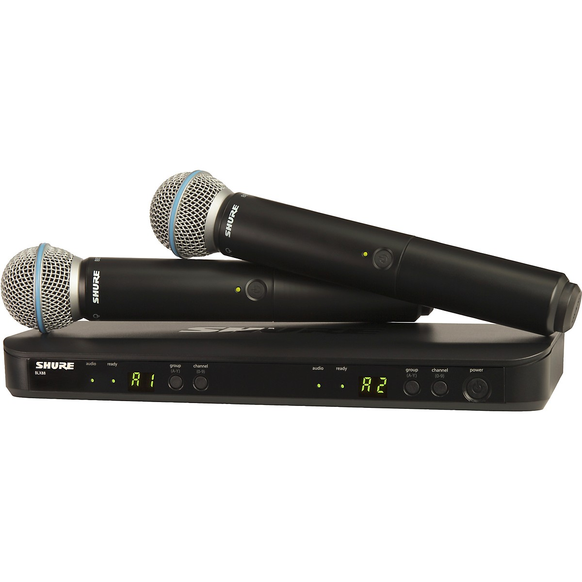 Shure BLX288/B58 Wireless Dual Vocal System with two Beta 58A Handheld Transmitters