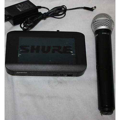 Shure BLX4 PG58 Handheld Wireless System