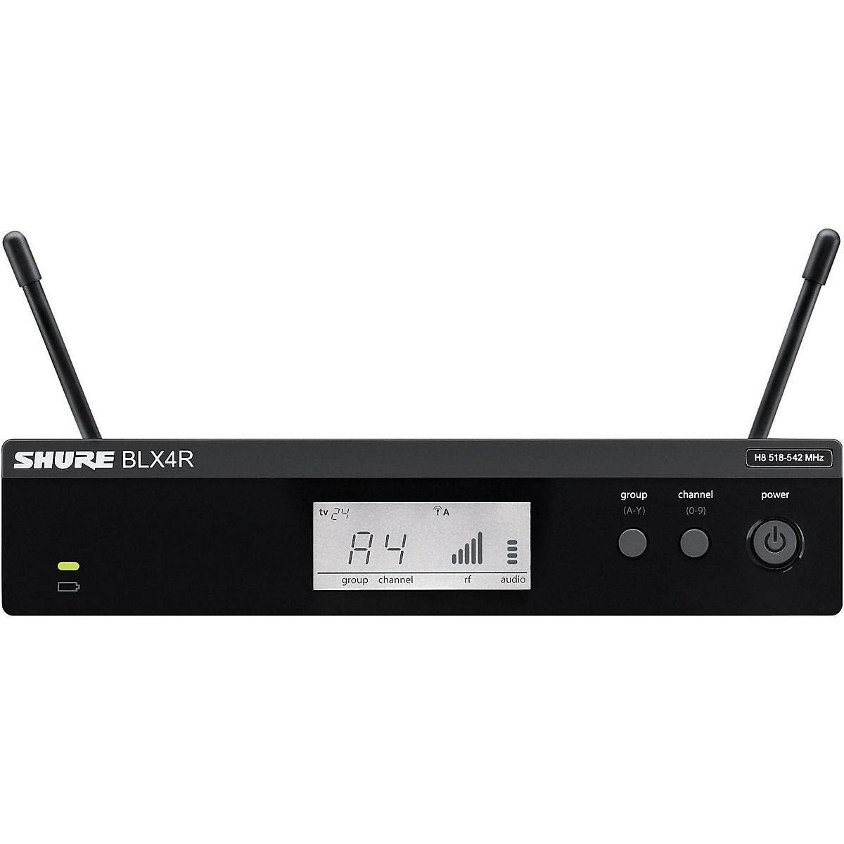Shure BLX4R BLX Rackmountable Wireless Receiver