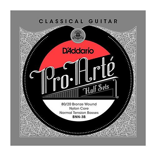 D'Addario BNN-3B Pro-Arte 80/20 Normal Tension Classical Guitar Strings Half Set