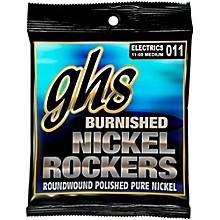 GHS BNR-M Burnished Nickel Medium Electric Guitar Strings