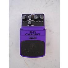 Behringer BOD400 Bass Overdrive Bass Effect Pedal