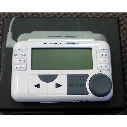 Peterson BODYBEAT SYNC White Metronome