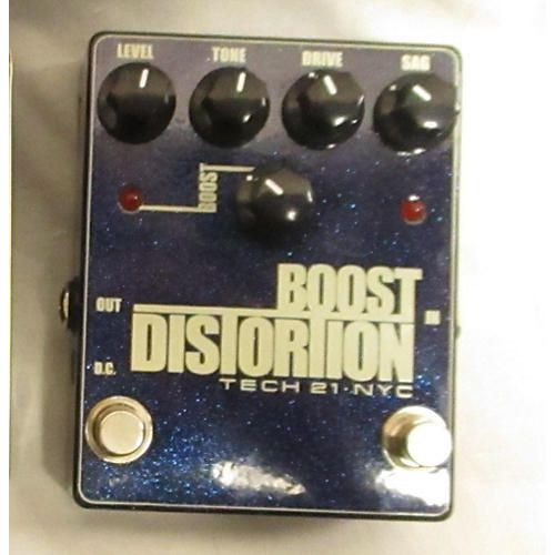 Tech 21 BOOST DISTORTION Effect Pedal