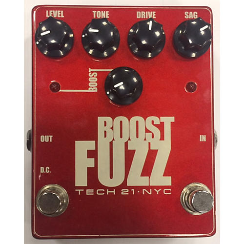 Tech 21 BOOST FUZZ Effect Pedal