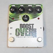 Tech 21 BOOST OVER DRIVE Effect Pedal