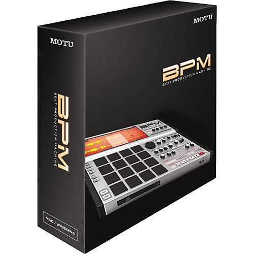 MOTU BPM Beat Production Machine Virtual Instrument