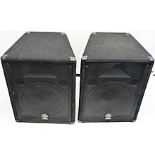 Yamaha BR15M Unpowered Monitor PAIR Unpowered Monitor