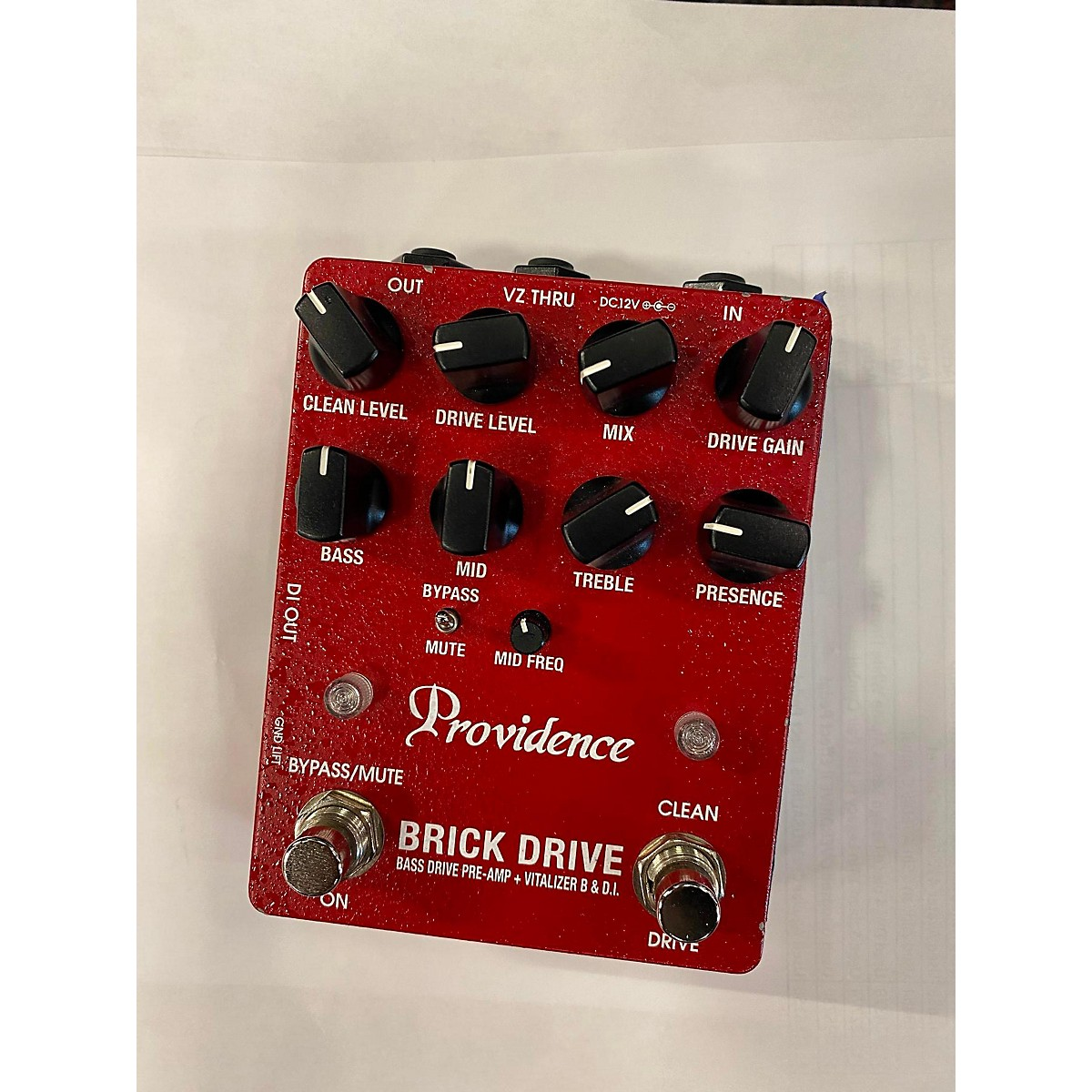 Providence BRICK DRIVE Bass Effect Pedal