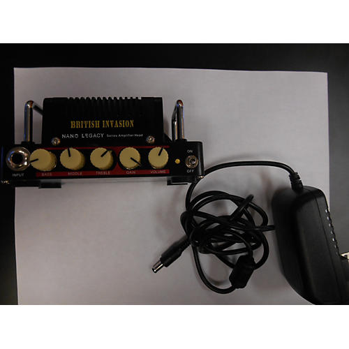 In Store Used BRITISH INVASION Battery Powered Amp