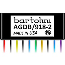 Bartolini BRMAGDB/918-2 Adjustable Gain Dual Buffer/Preamp