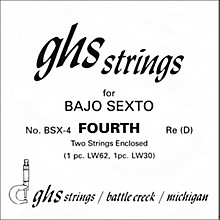 GHS BSX4 Bajo Sexto Single Guitar String