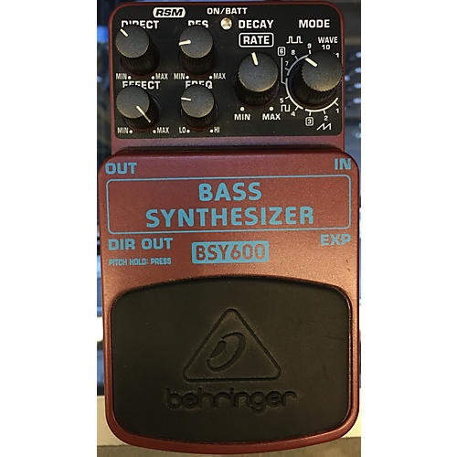 Behringer BSY600 Bass Synthesizer Bass Effect Pedal