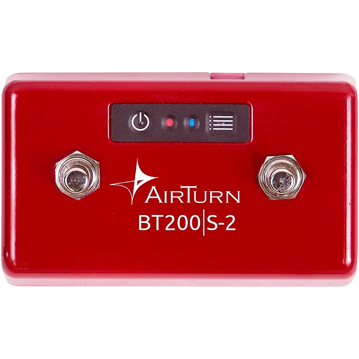 AirTurn BT200S-2 Bluetooth 2 Foot Switch Controller