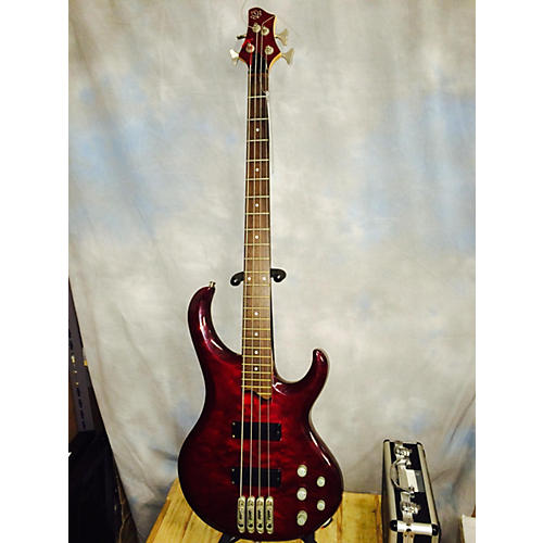 Ibanez BTB 4 STRING QM Electric Bass Guitar