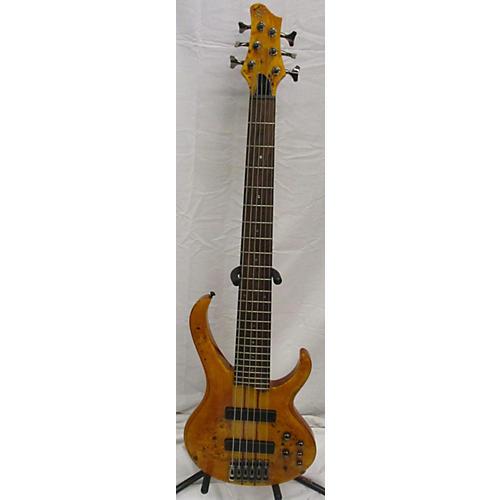 used ibanez btb776pb 6 string electric bass guitar vintage natural guitar center. Black Bedroom Furniture Sets. Home Design Ideas