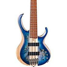 BTB845 5-String Electric Bass Cerulean Blue Burst Low Gloss