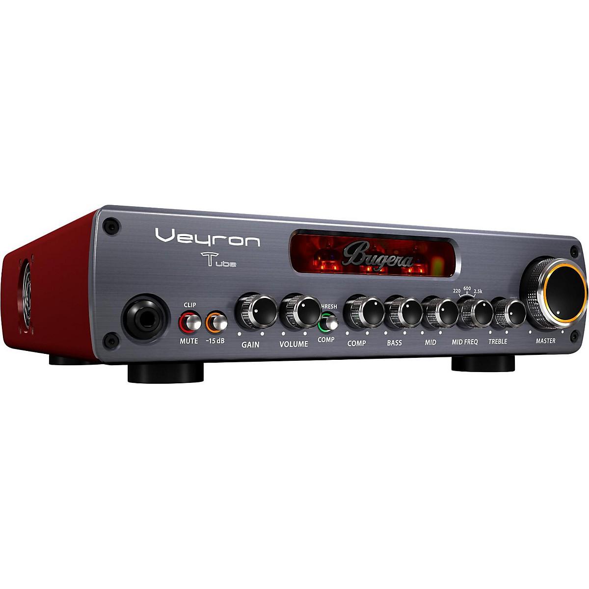 Bugera BV1001T Veyron Tube 2,000W Tube Hybrid Bass Amplifier Head