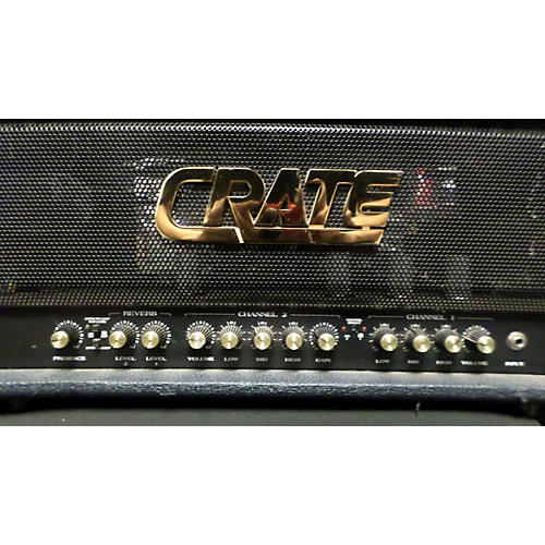 Crate BV120H Blue Voodoo 120W Tube Guitar Amp Head
