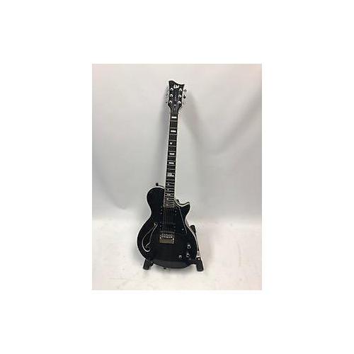 used esp bw 1 ben weinman hollow body electric guitar trans black guitar center. Black Bedroom Furniture Sets. Home Design Ideas