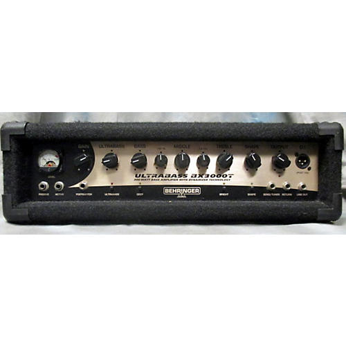 In Store Used BX3000T Black And Gold Bass Amp Head
