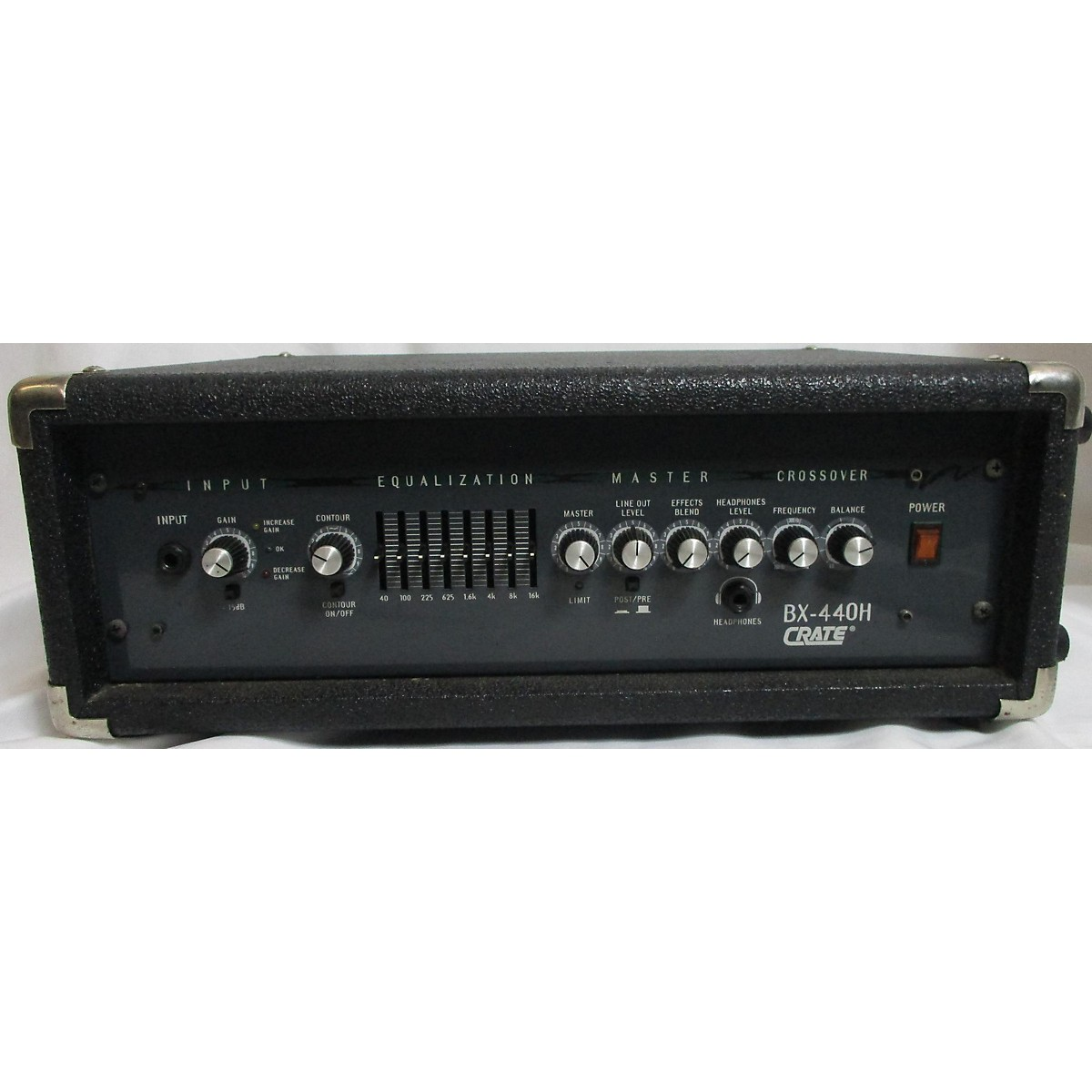 Crate BX440H Bass Amp Head