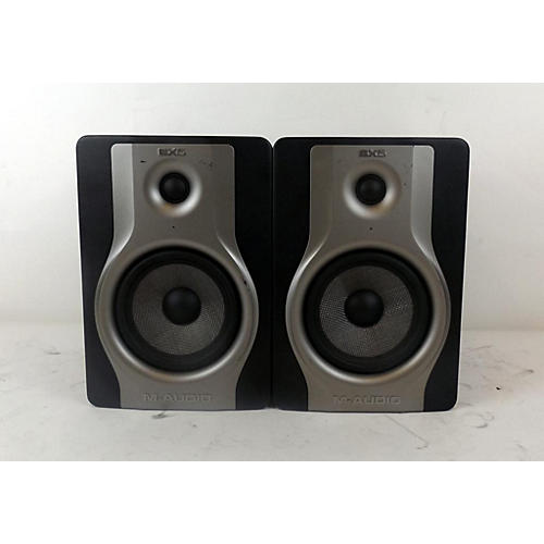 used m audio bx5 pair powered monitor guitar center. Black Bedroom Furniture Sets. Home Design Ideas