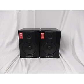 used m audio bx5a pair powered monitor guitar center. Black Bedroom Furniture Sets. Home Design Ideas