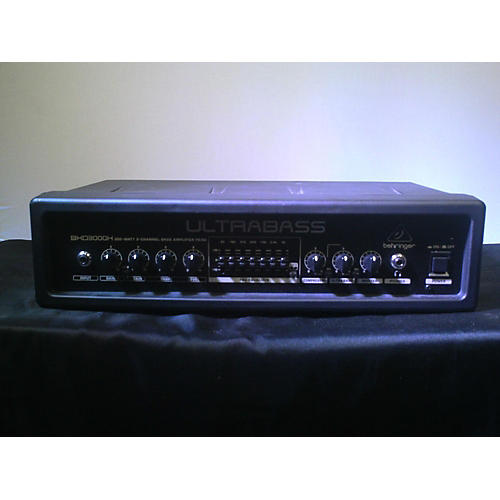 used behringer bxd3000h bass amp head guitar center. Black Bedroom Furniture Sets. Home Design Ideas